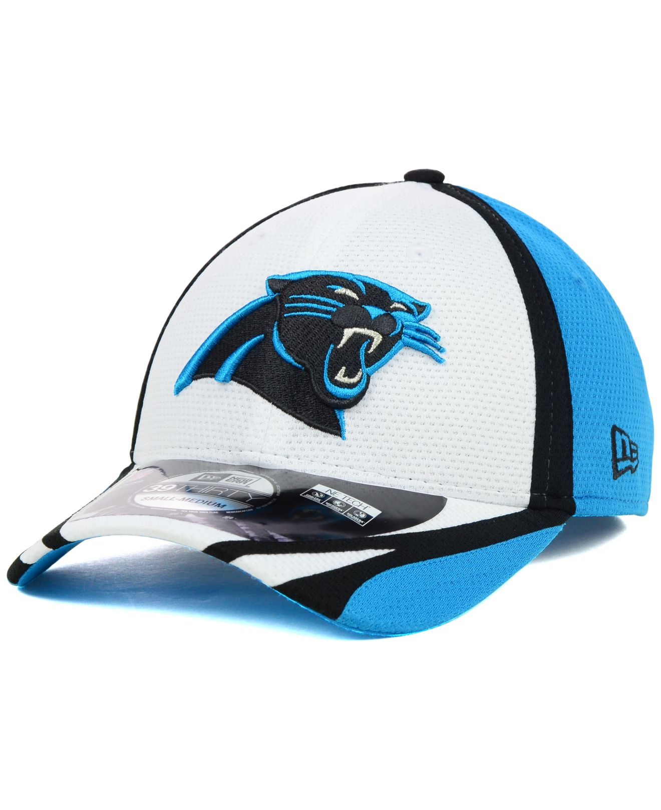 cea824908f50bf Lyst - KTZ Carolina Panthers Nfl Training Camp 39thirty Cap in Blue ...