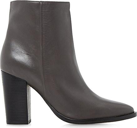 Fantastic  Women  Designer Boots  UGG Leather Lynnea Grey Womens Ankle