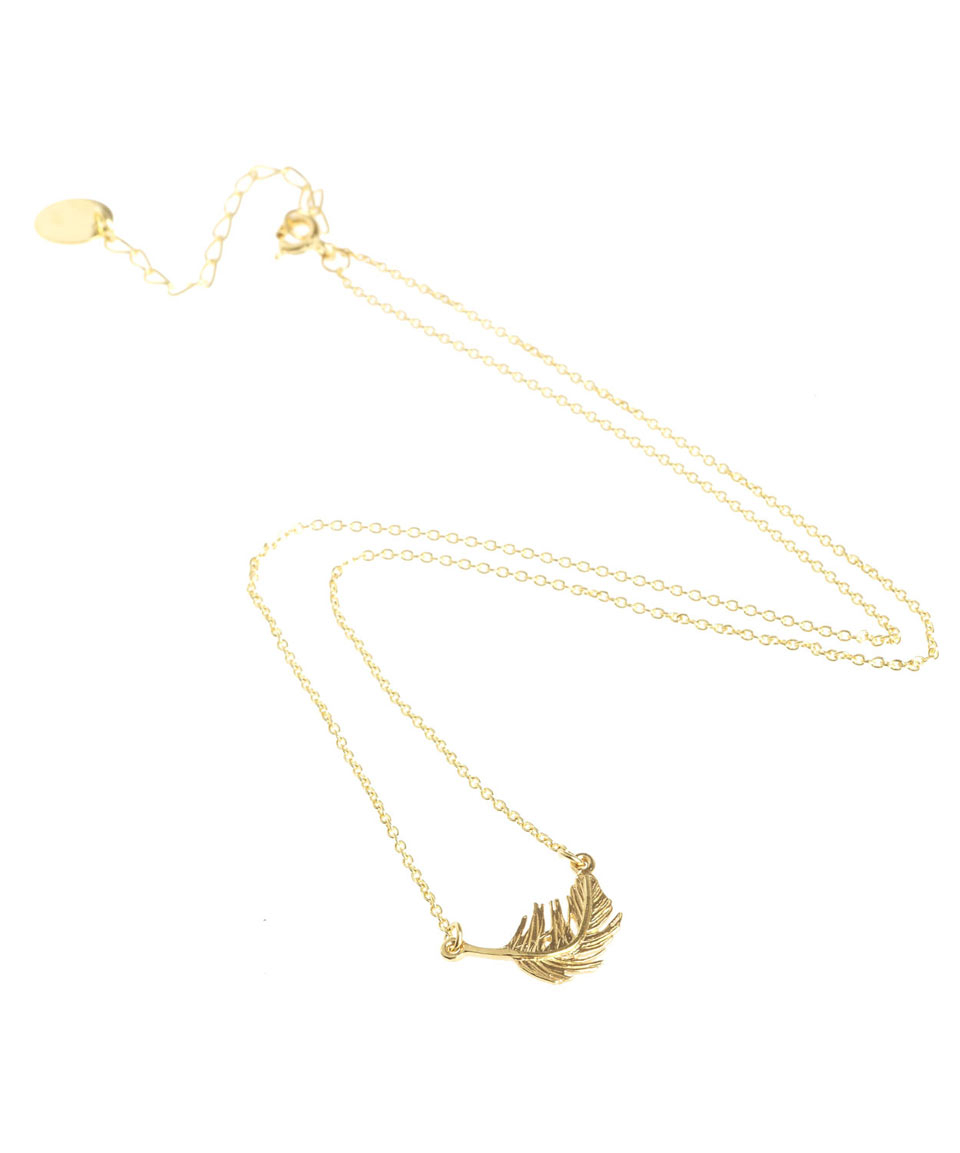 Alex Monroe Gold Plated Bumblebee Necklace in Metallic