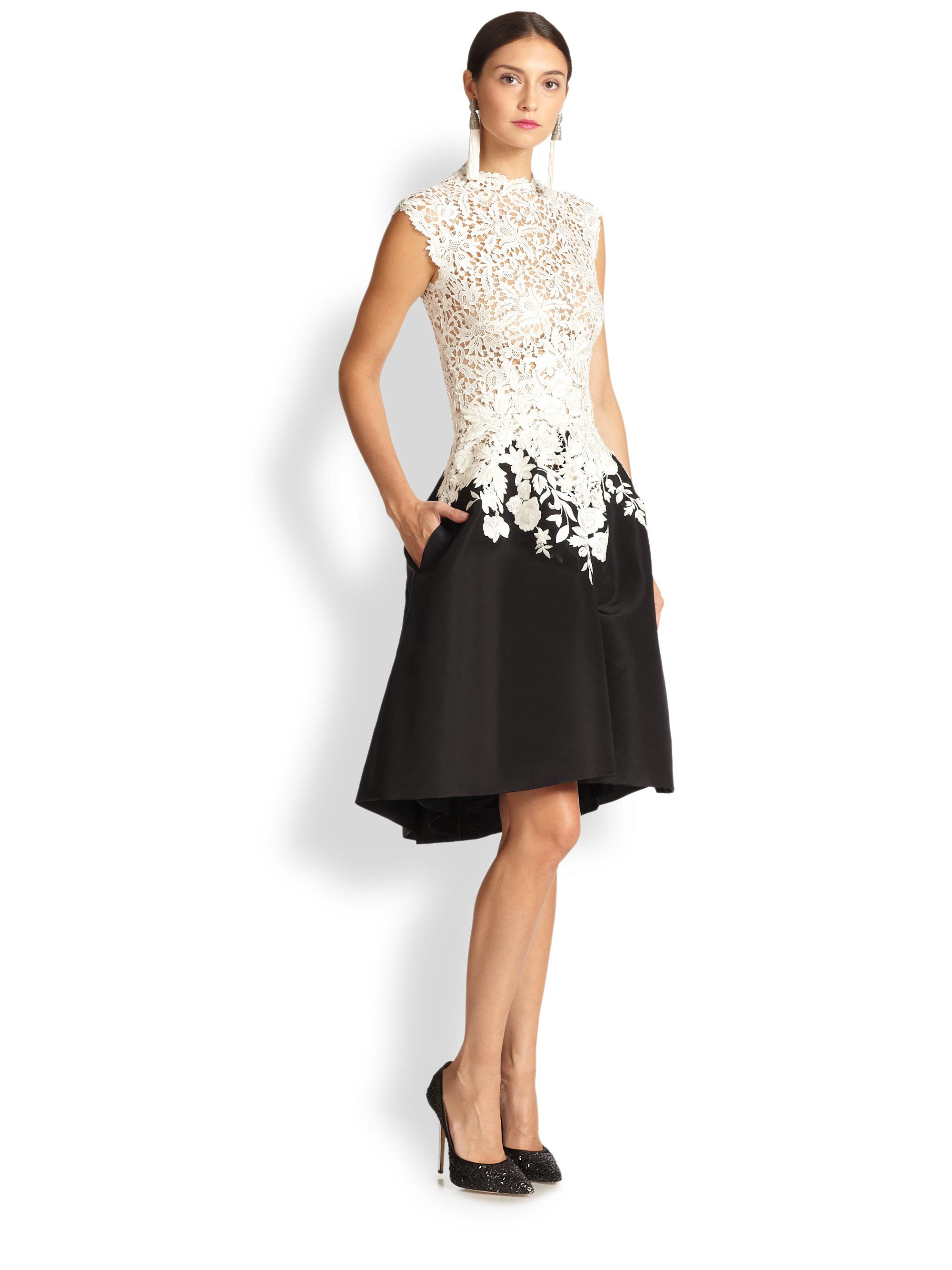 High Collar Dress
