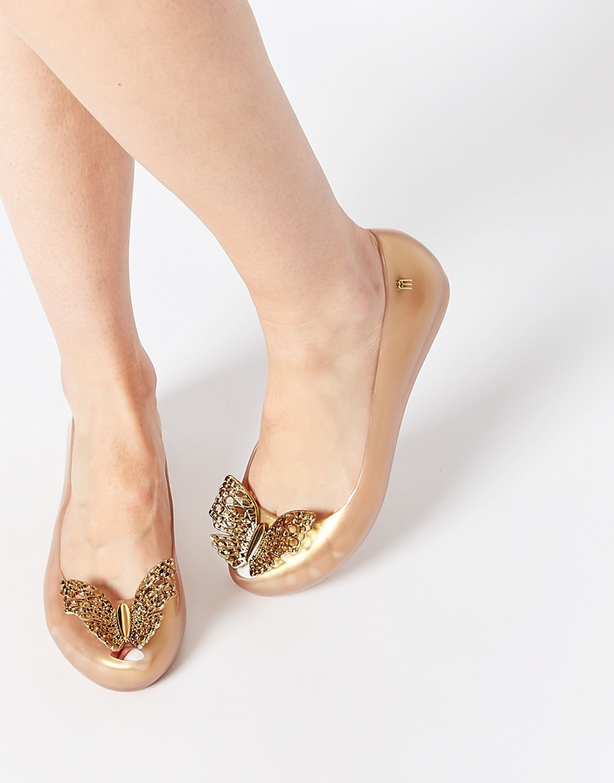 affordable price united kingdom unique design And Cinderalla Ultragirl Gold Flat Shoes