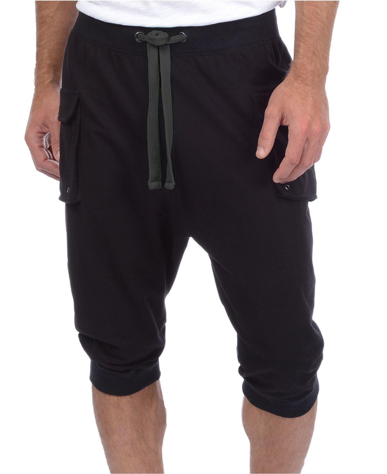 Lyst 2xist Men S Cargo Pocket Capri Lounge Pants In
