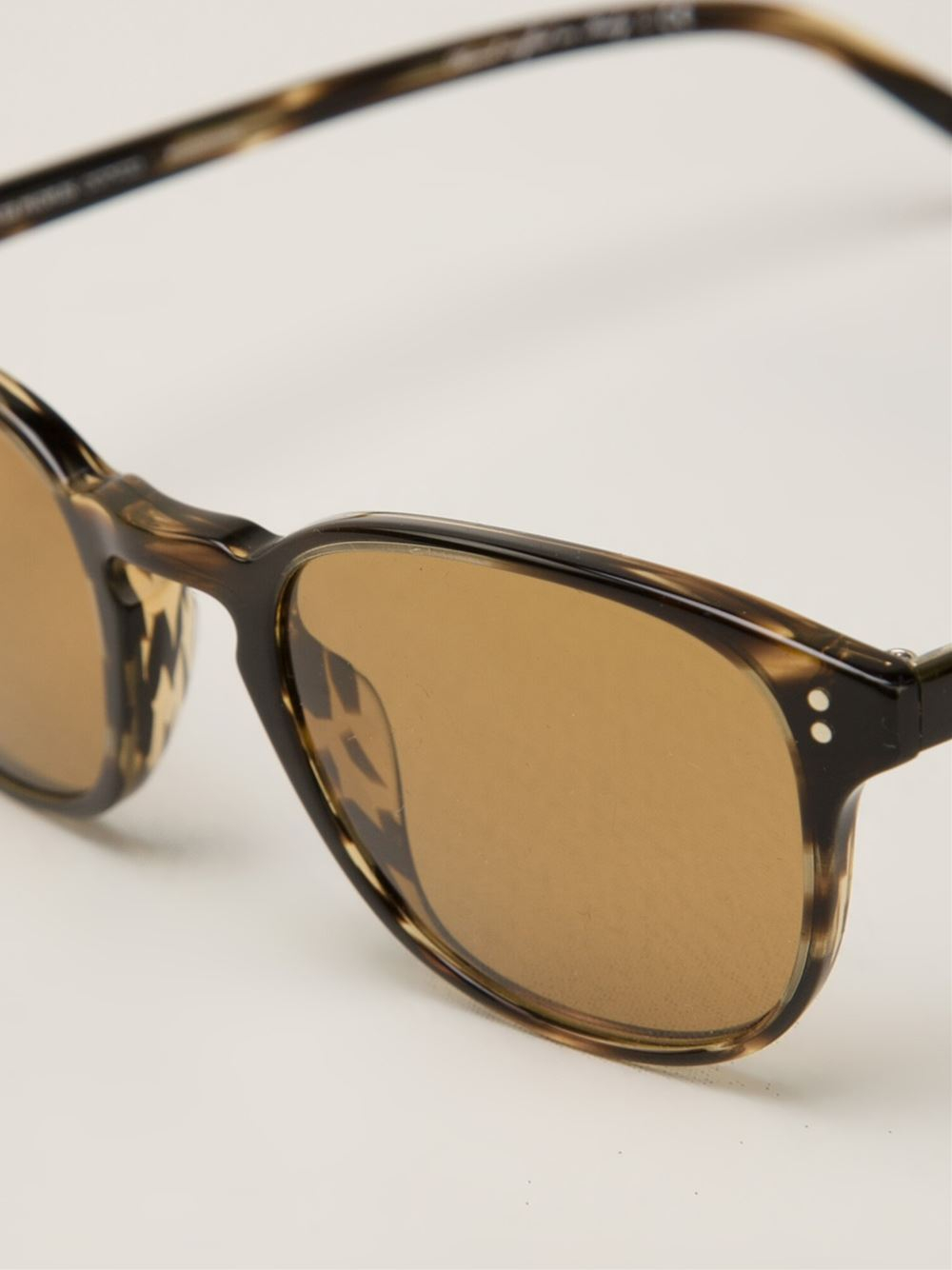 Oliver Peoples Fairmont Sun Sunglasses in Brown
