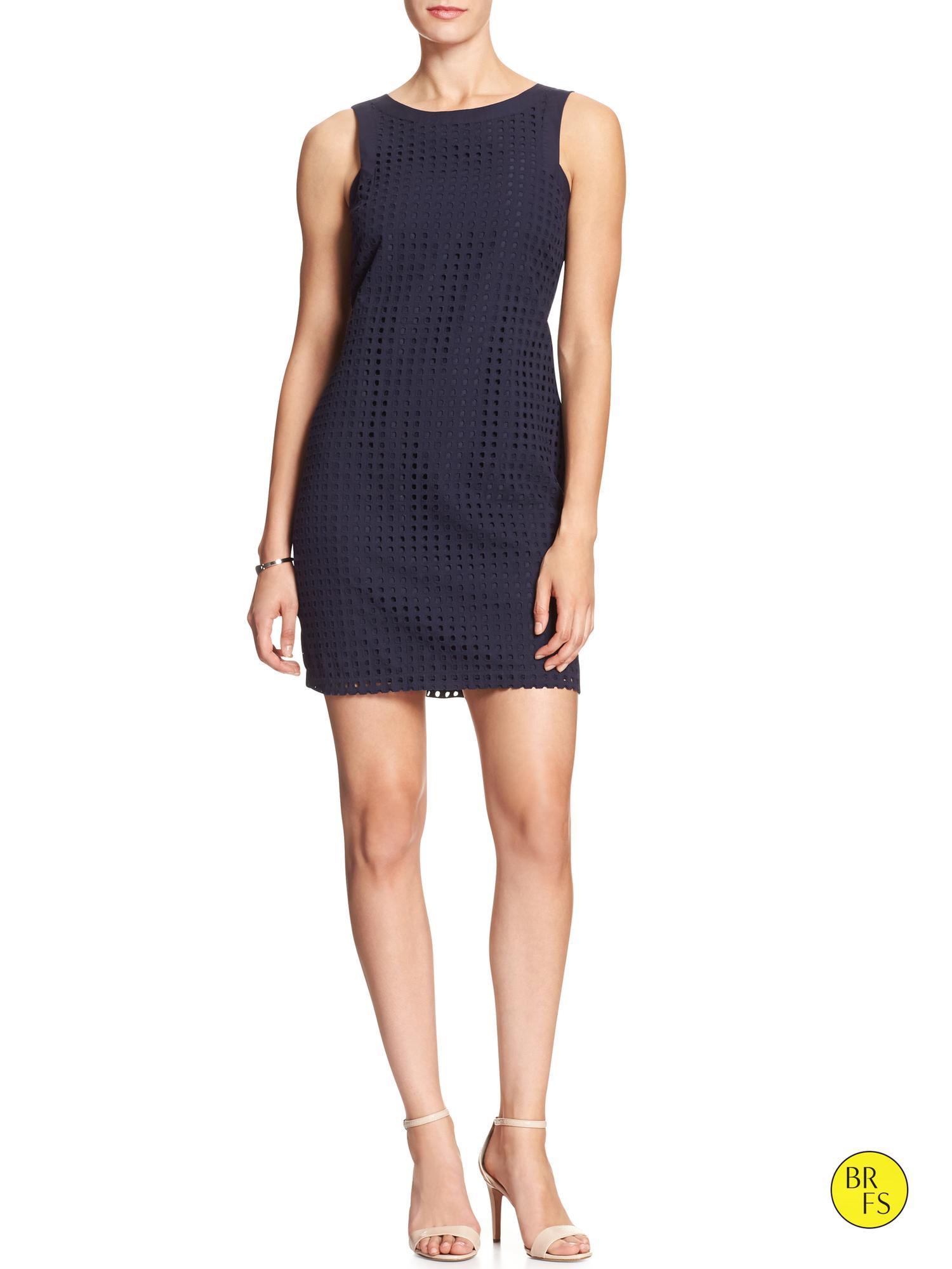Bell-Sleeve Shift Dress. Sale $ Orig $