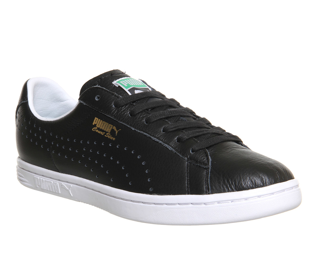 PUMA Court Star Leather in Black for