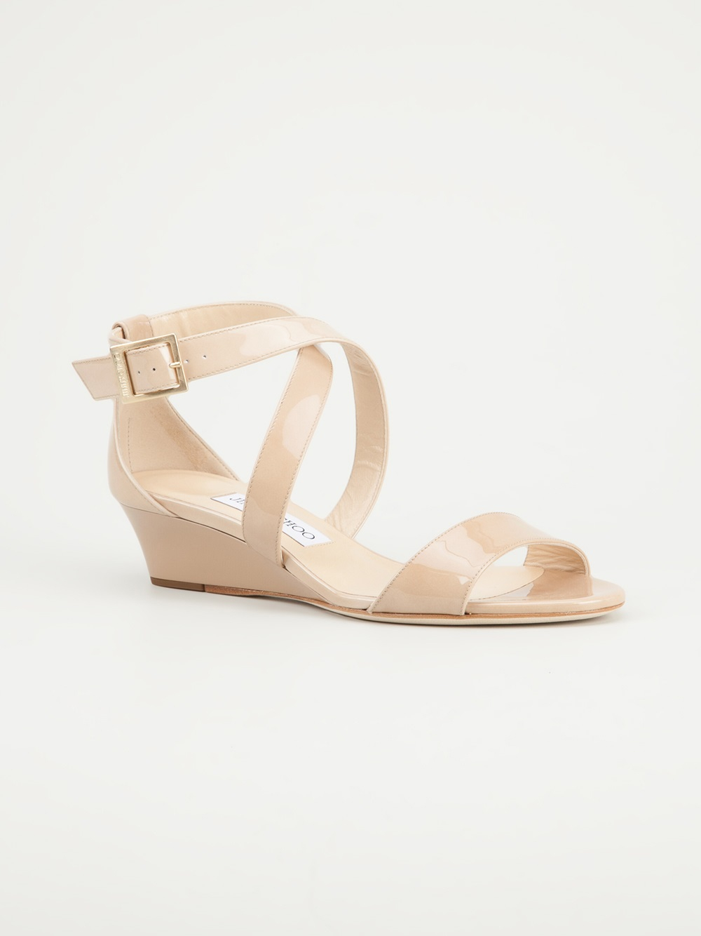 b0052baa8d1 Lyst - Jimmy Choo Chiara 35mm Sandal in Natural