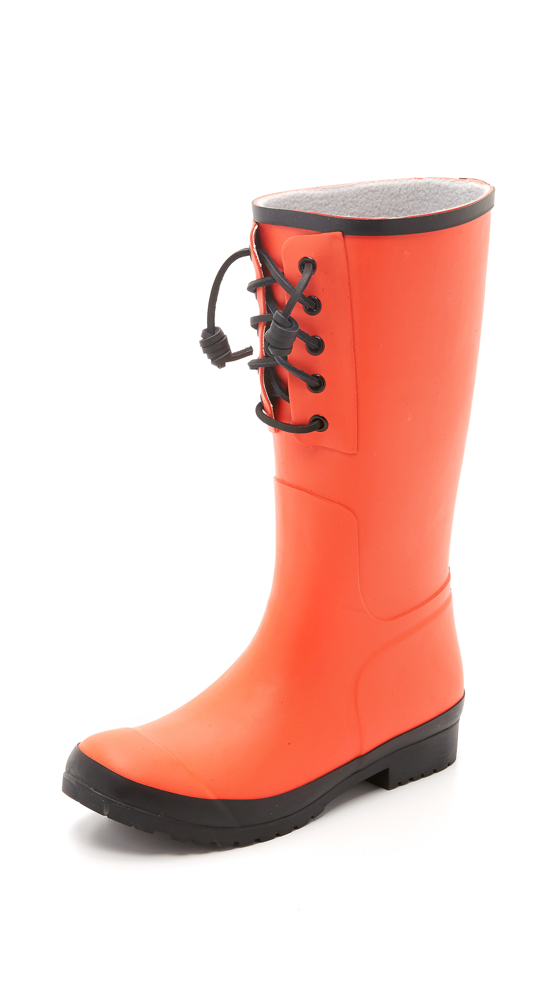 Sperry top-sider Walker Spray Rain Boots in Orange | Lyst