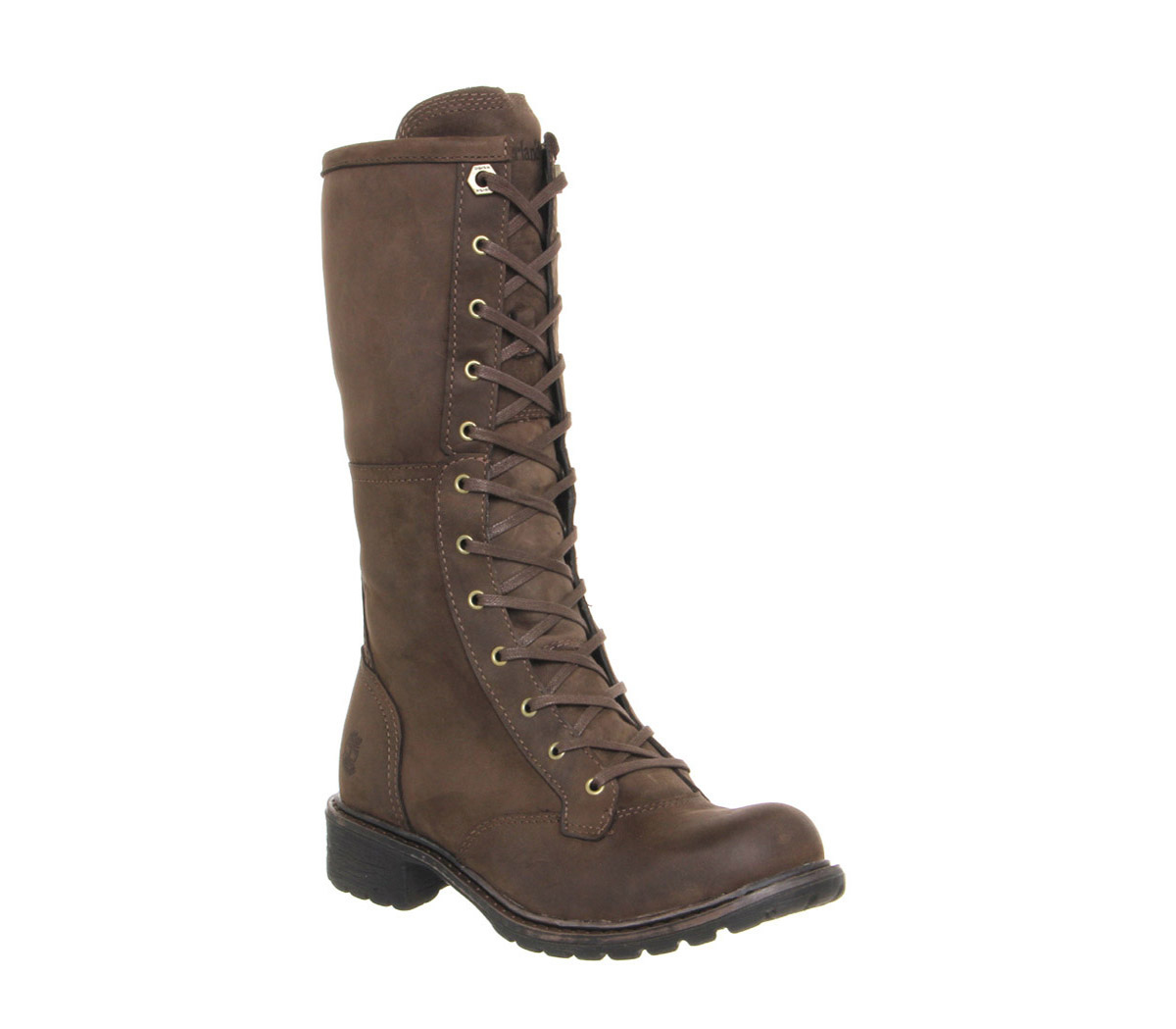 Timberland Stoddard Mid Lace Boots in Brown