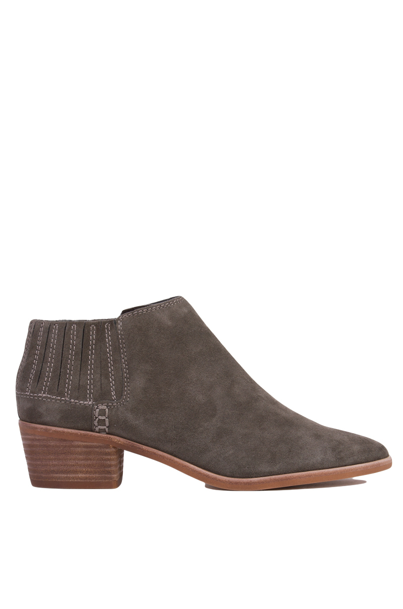 dolce vita keiton heeled ankle boots grey suede in brown