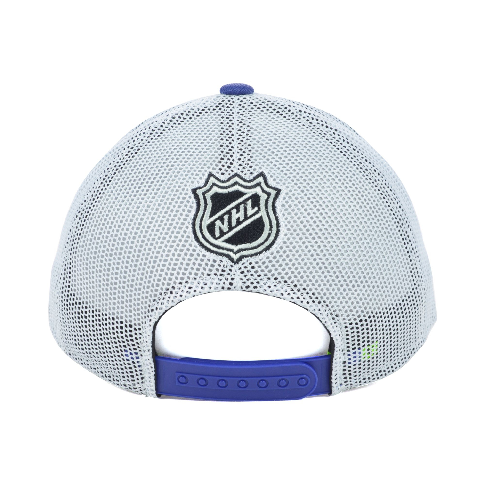 087b1896414 ... white fundamental adjustable hat 0ceba bfe2d  where to buy lyst reebok  tampa bay lightning nhl draft cap in blue for men c58e3