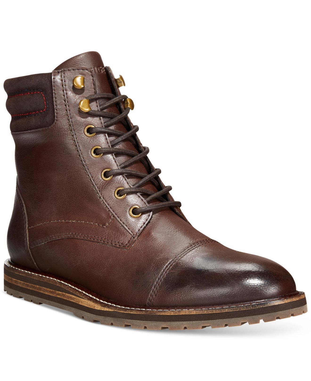 Tommy Hilfiger Boots Mens - Tommy Hilfiger Angelo Brown