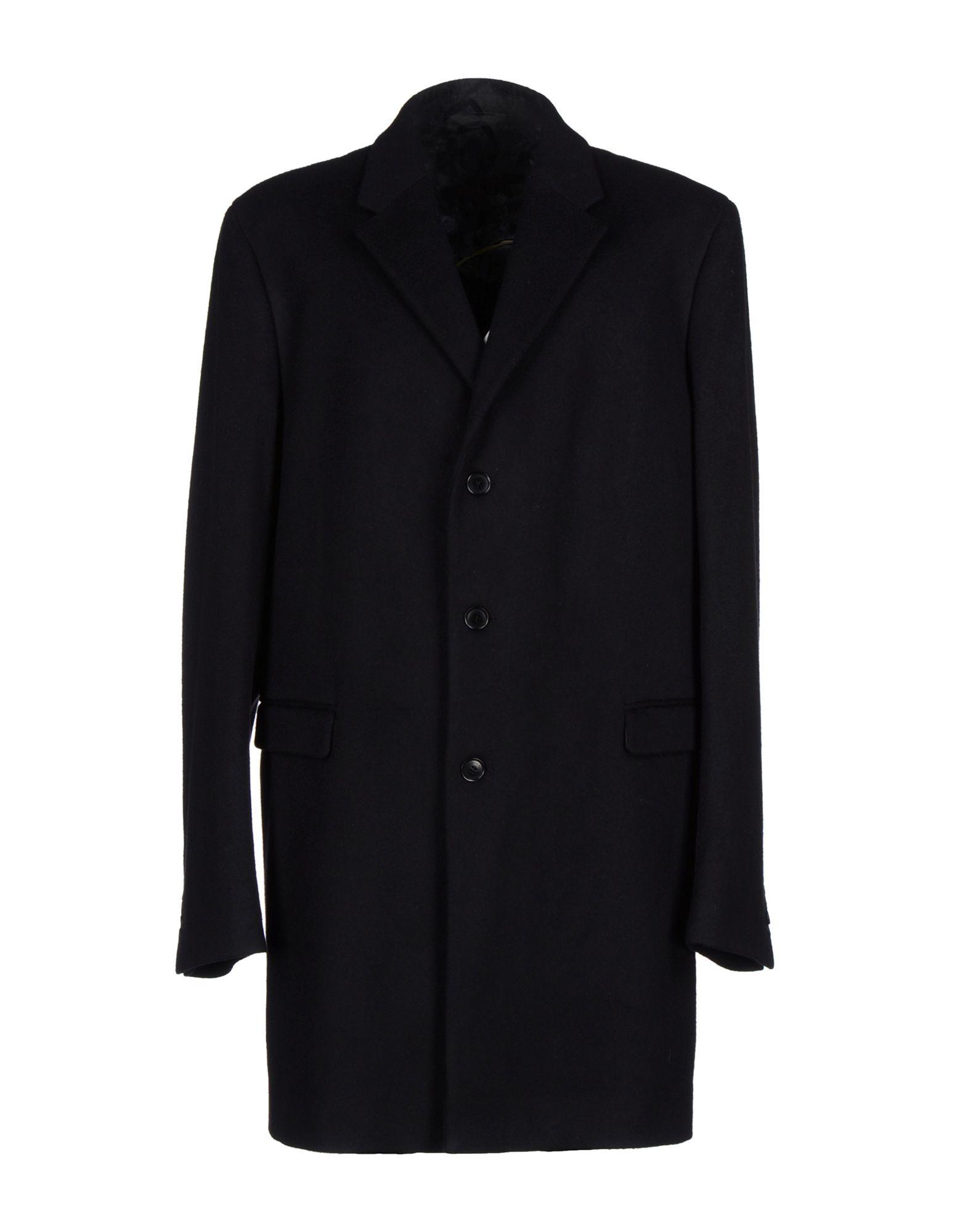 Lyst Calvin Klein Coat In Black For Men