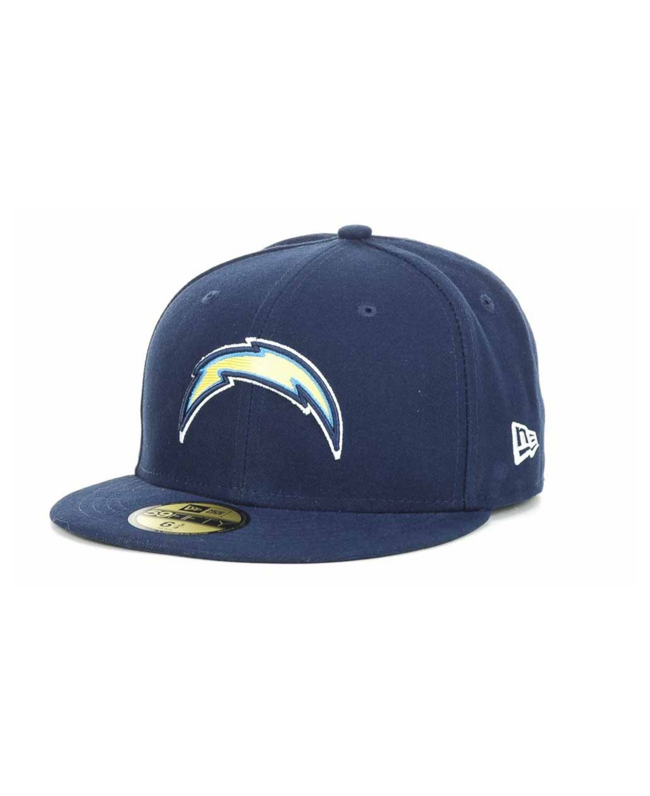 San Diego Chargers Fitted Hats: Ktz Boys' San Diego Chargers Official On-field