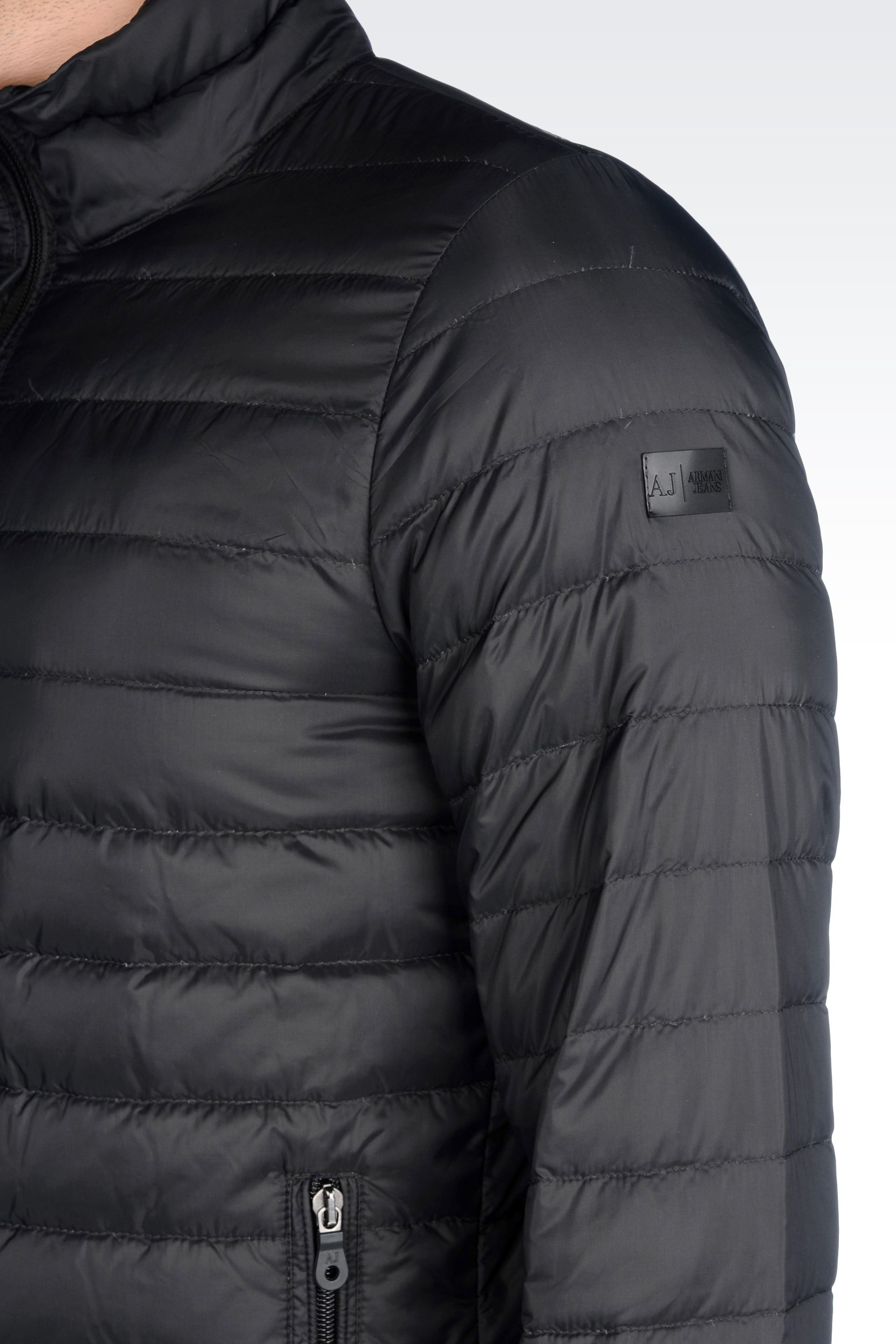 57eaa8247a1f Lyst - Armani Jeans Ultra Light Down Jacket with Special Packaging ...