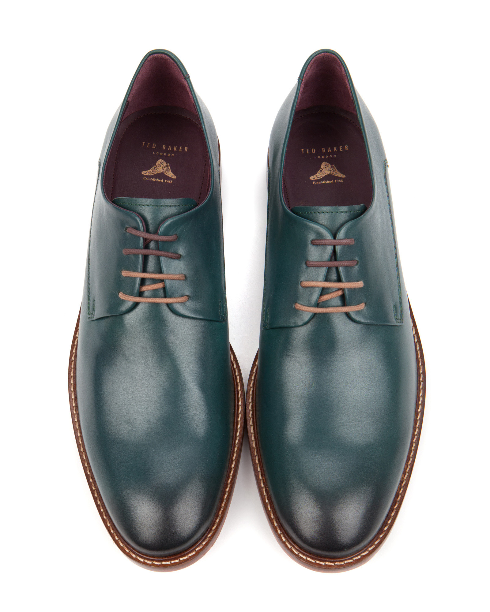 91083b5b13e438 ... Derby Brogues Brown Shoes Baker Mens Ted R7e5364 FILMVWXZ15. Gallery