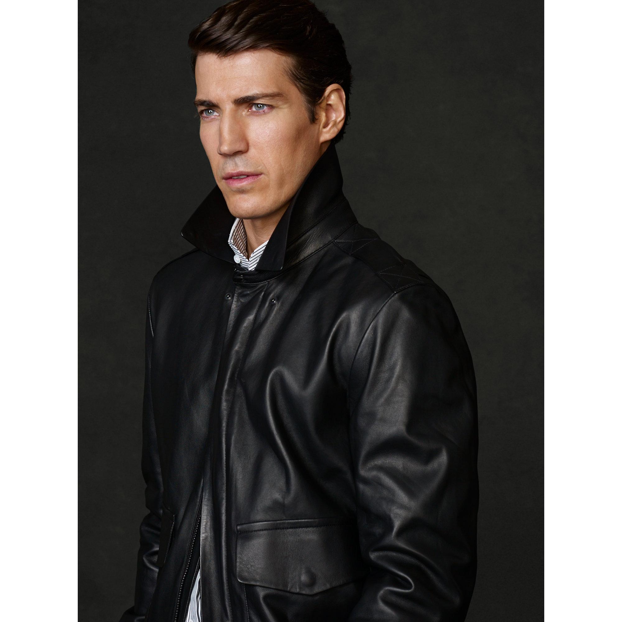 Ralph Lauren Black Label Zip Front Jacket   Ralph lauren