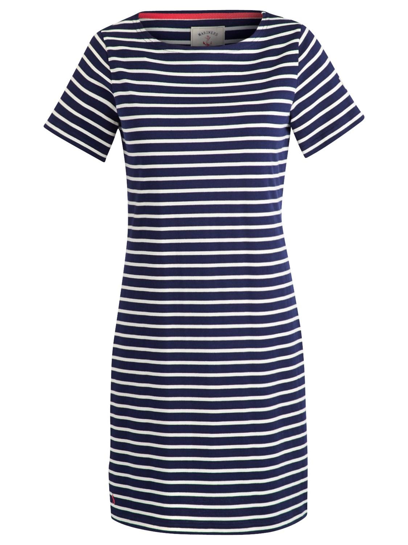 Joules Riviera Stripe Jersey Dress In Blue Lyst