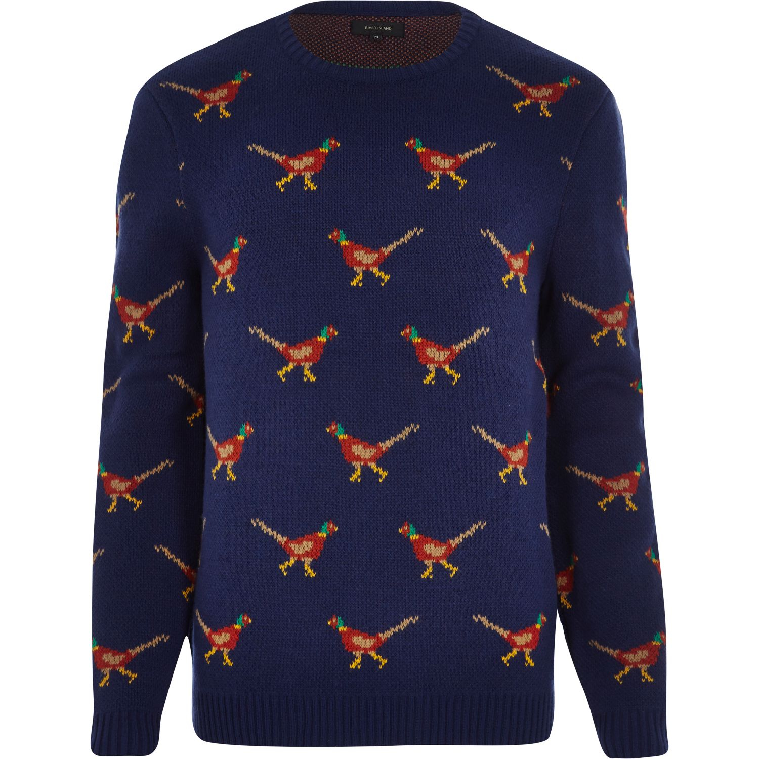 24892221f3a Mens Christmas Jumpers River Island | woestenhoeve
