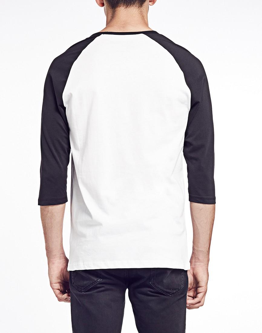 YMC TV Raglan T Shirt Multi - X3252