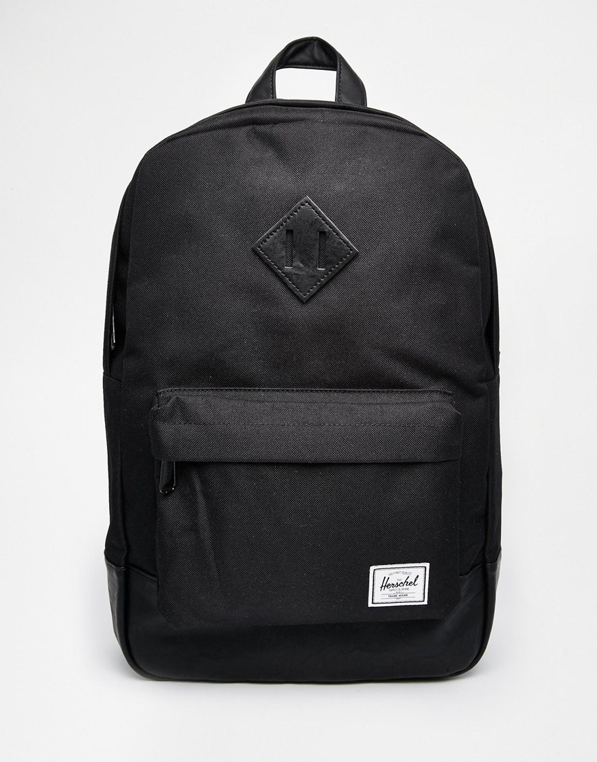 Herschel Supply Co Heritage Backpack In Black In Black Lyst