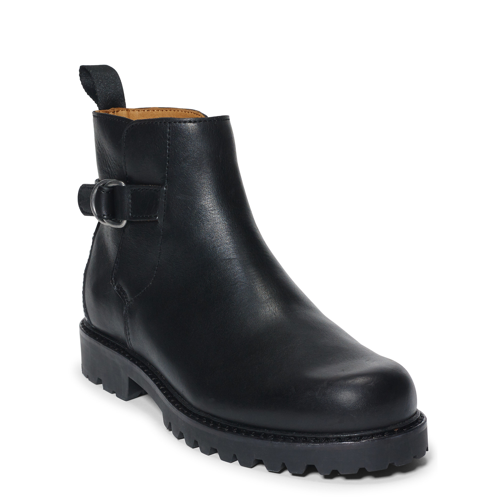 Polo ralph lauren Fleetlands Calfskin Boot in Black for Men | Lyst