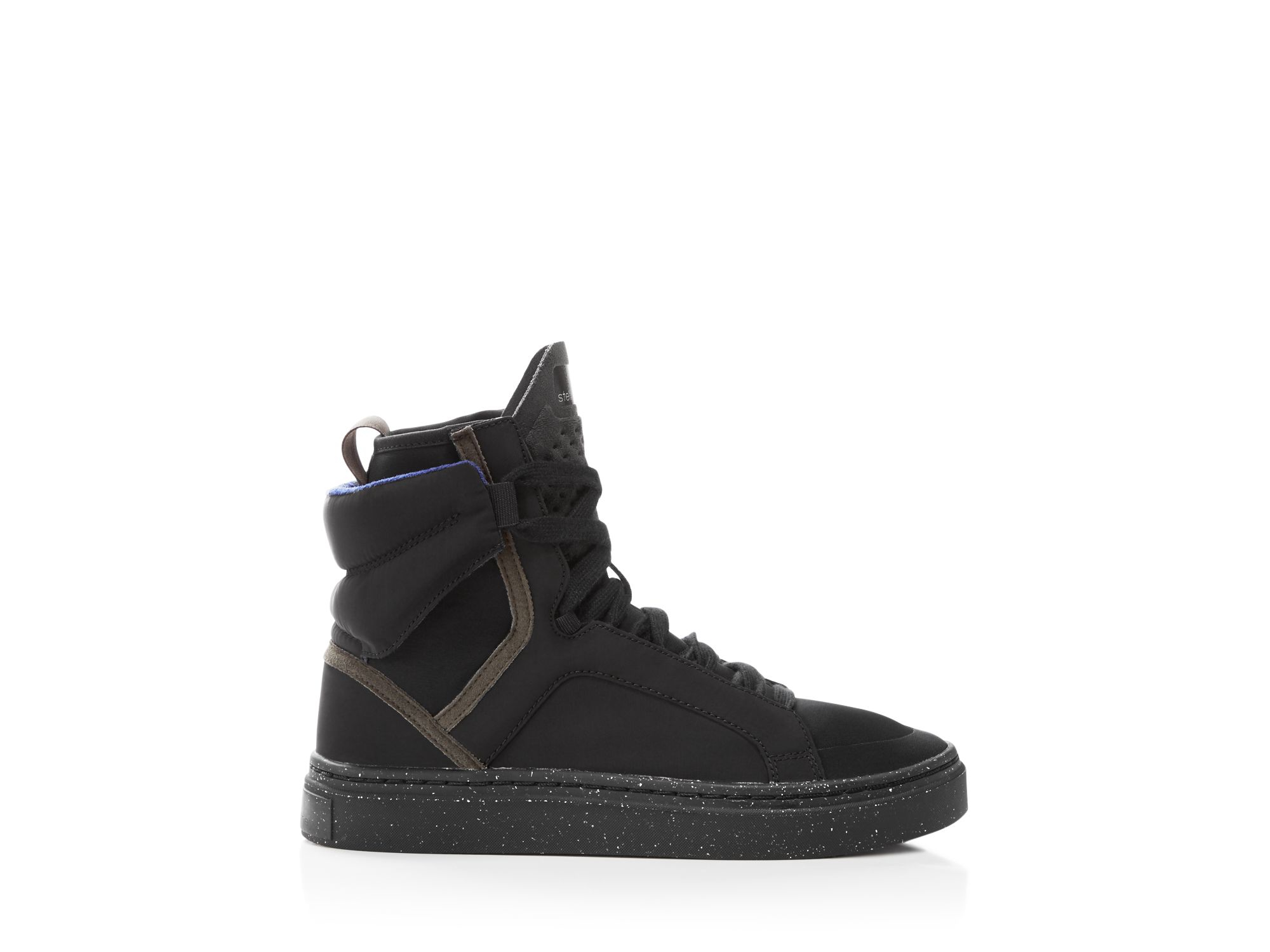 Adidas By Stella McCartney Gray Asimina High top Sneakers Lyst