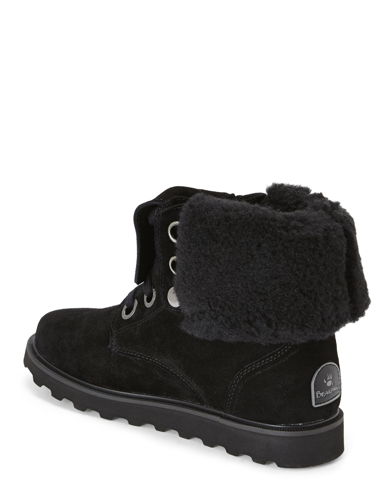 bearpaw boots lace up