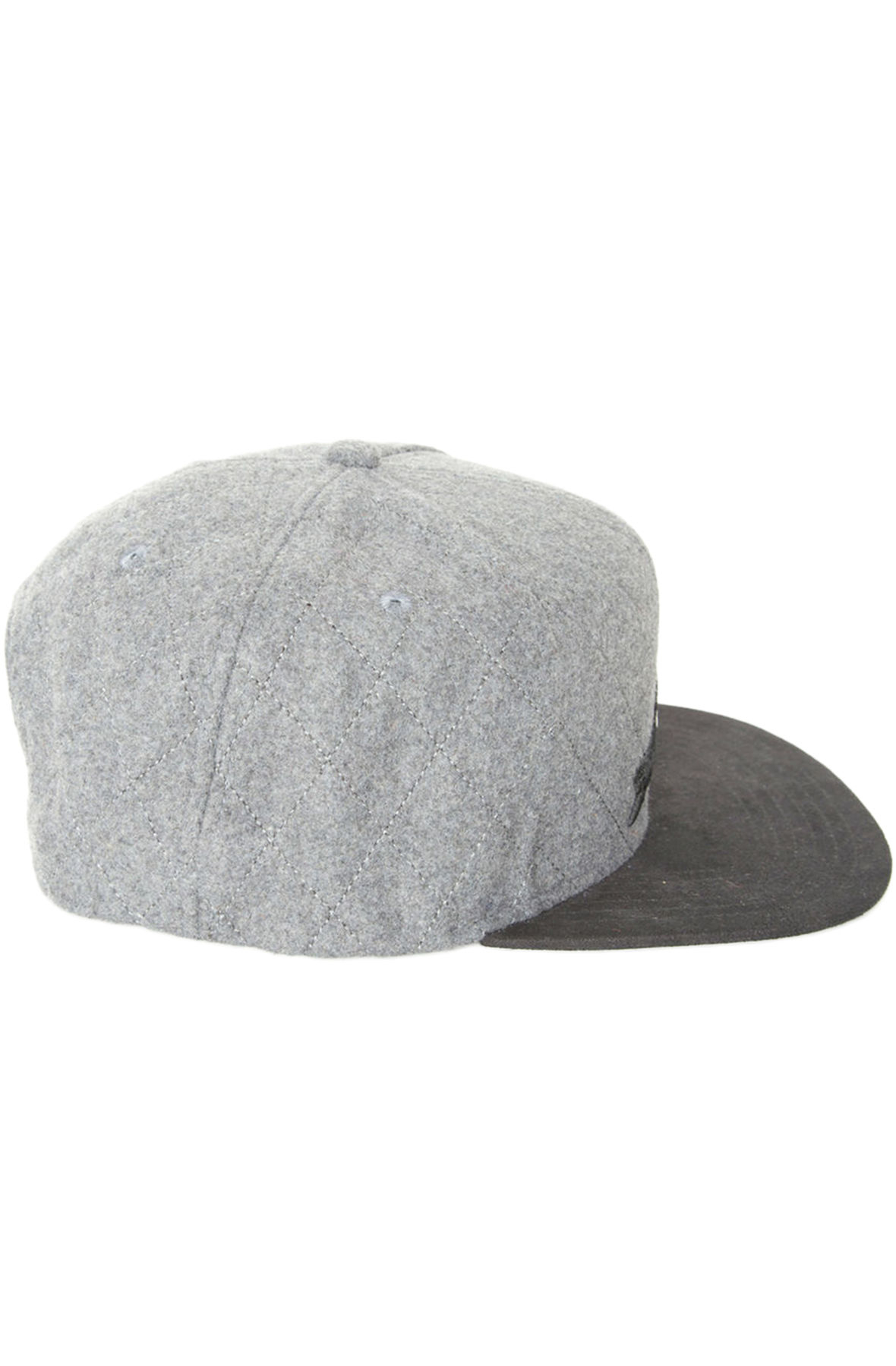 37659e53bc8 Lyst - Staple The Quilted Pigeon Snapback in Gray for Men