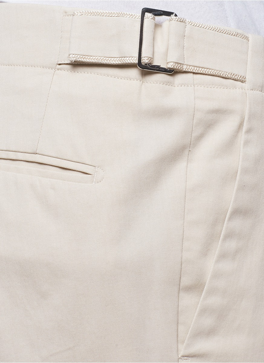 Lyst Fa 231 Onnable Side Adjuster Cotton Blend Gabardine