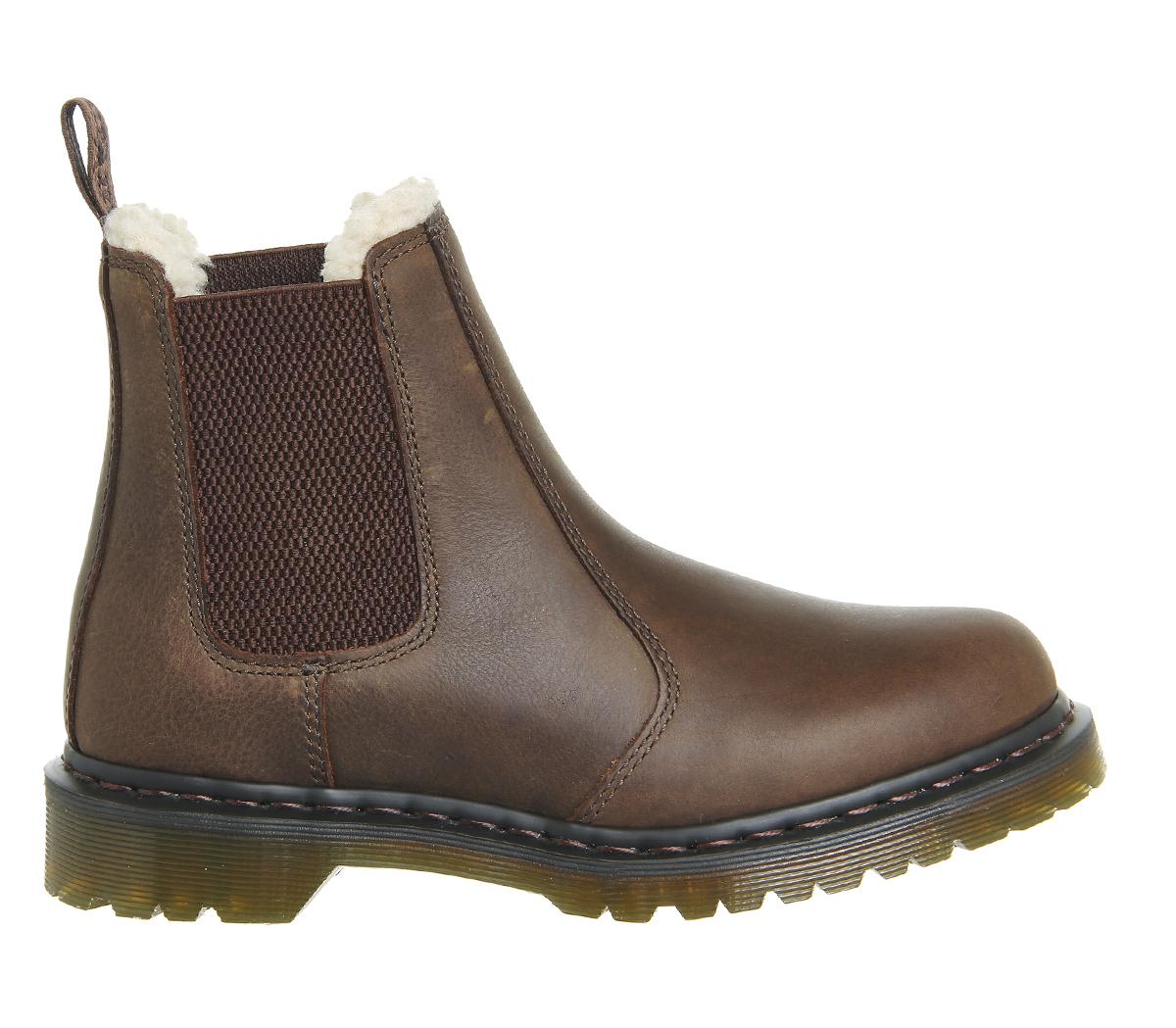 dr martens leonore boots in brown for men lyst. Black Bedroom Furniture Sets. Home Design Ideas