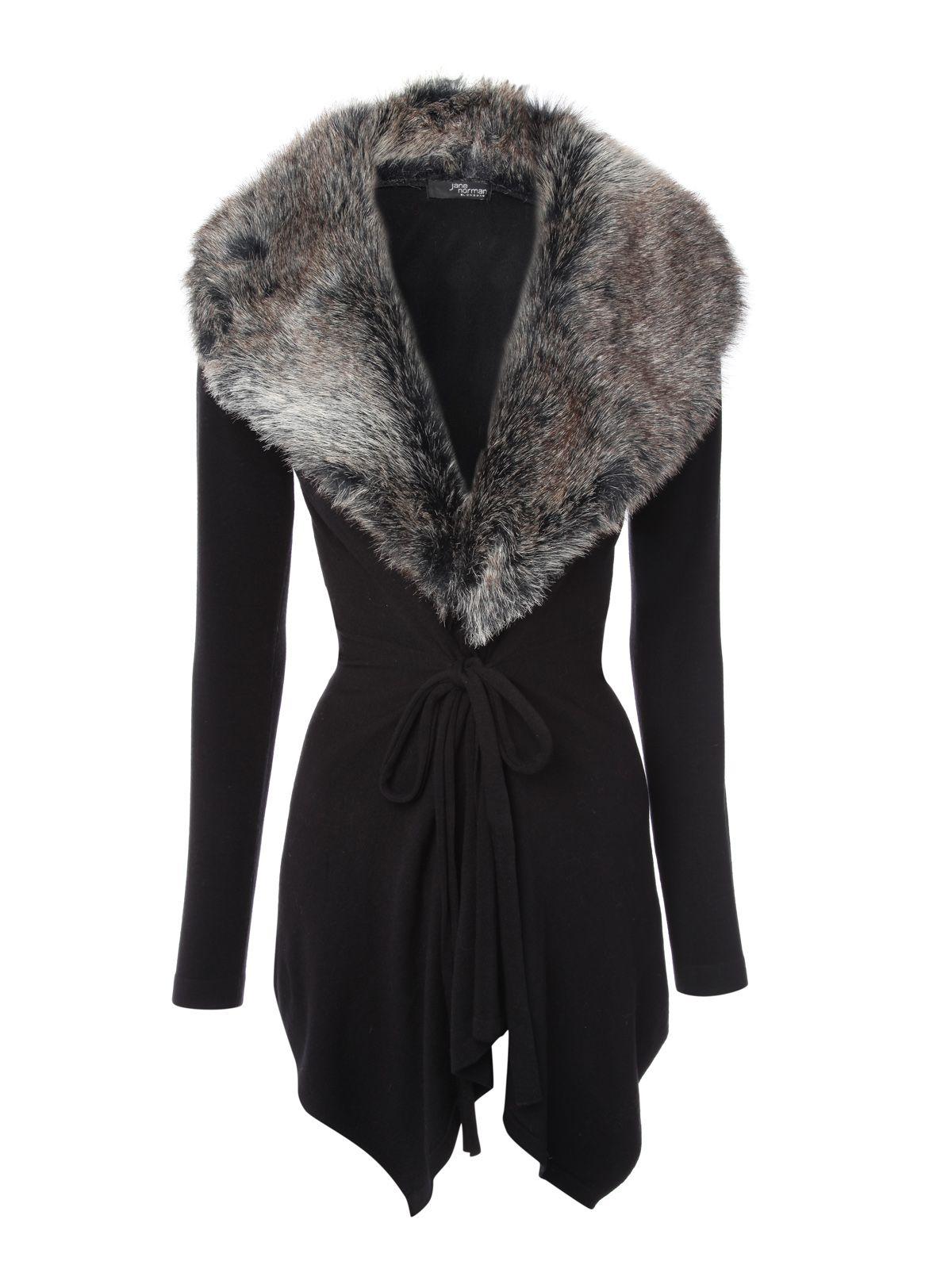 商品詳細; 商品名 Alfani レディース sweater 送料無料 Deep Black Petite Faux-Fur Trim Cardigan Created for Macy's 商品説明 Shawl collar; open front Faux-fur trim at hem Hits below hip Created for Macy's Designed to fit and flatter 5'4