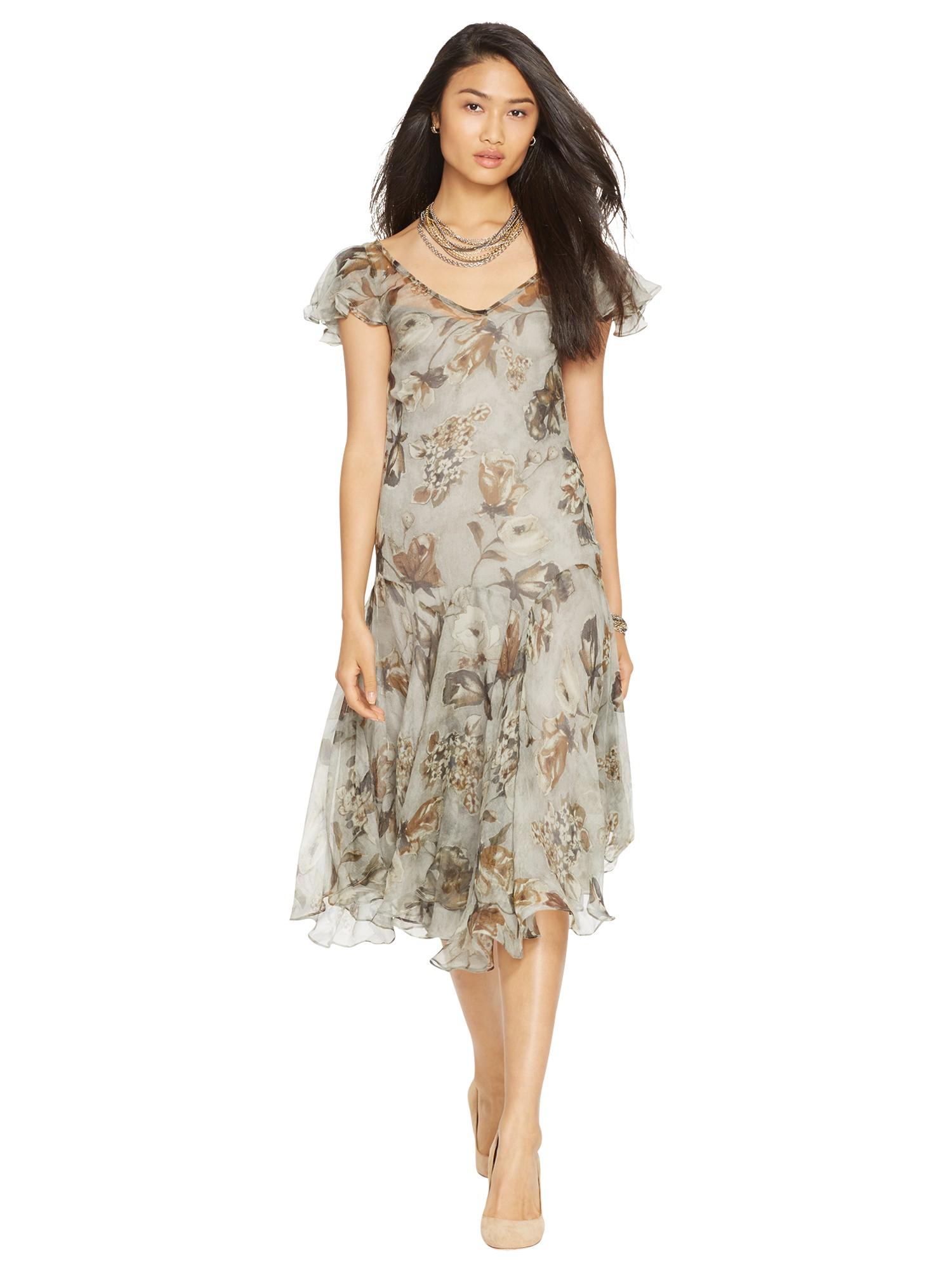 b574c2cc48943 Lauren by Ralph Lauren Bolanie Dress in Metallic - Lyst
