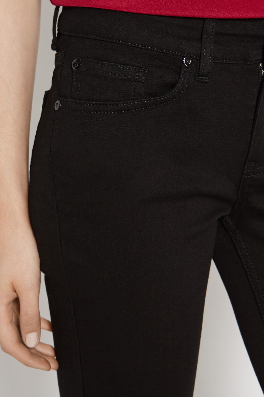 95c36fe518fd Oasis Eva Slim Bootcut Black Jeans in Black - Lyst