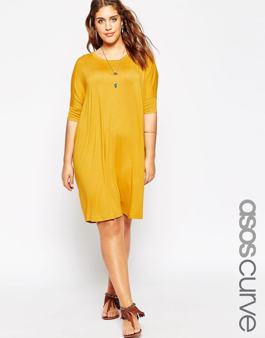 Yellow t shirt dress u2013 Dress blog Edin