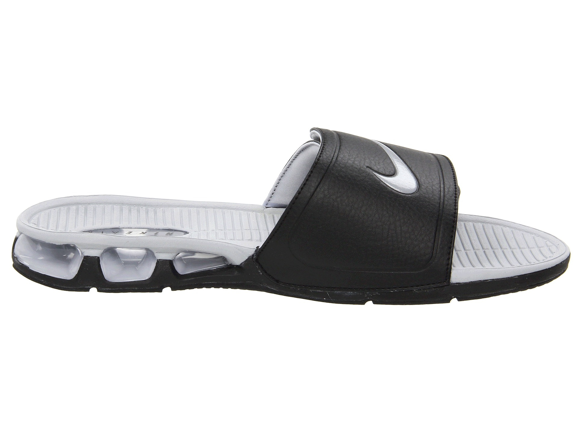 249fa121cd3e ... sandals 487331 001 finish line 13d76 460e3  wholesale lyst nike air  experience slide in black for men 2c87e 6a0d1