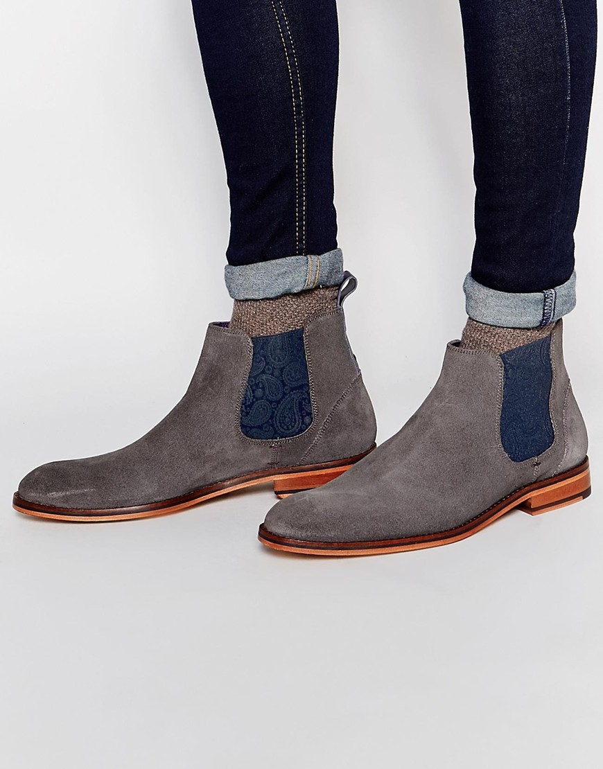Ted Baker Men's Bronzo Suede Chelsea Boots yH5O4bKe