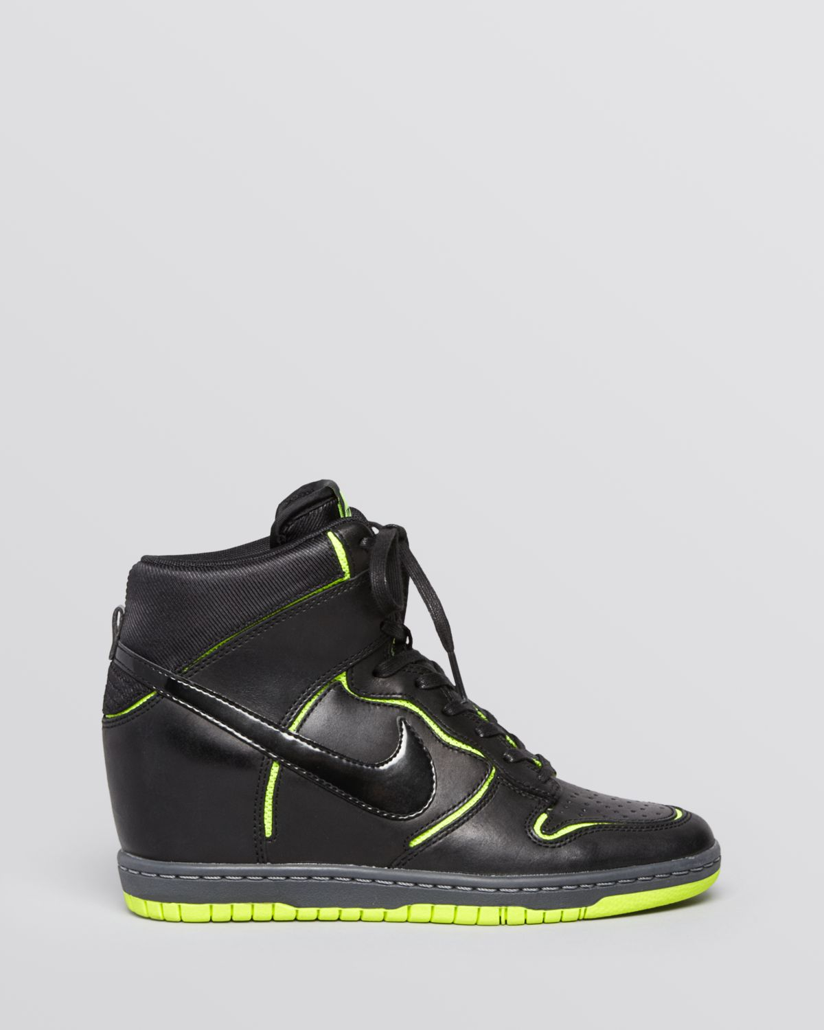 Nike Lace Up High Top Wedge Sneakers - Womens Dunk Sky Hi -8232