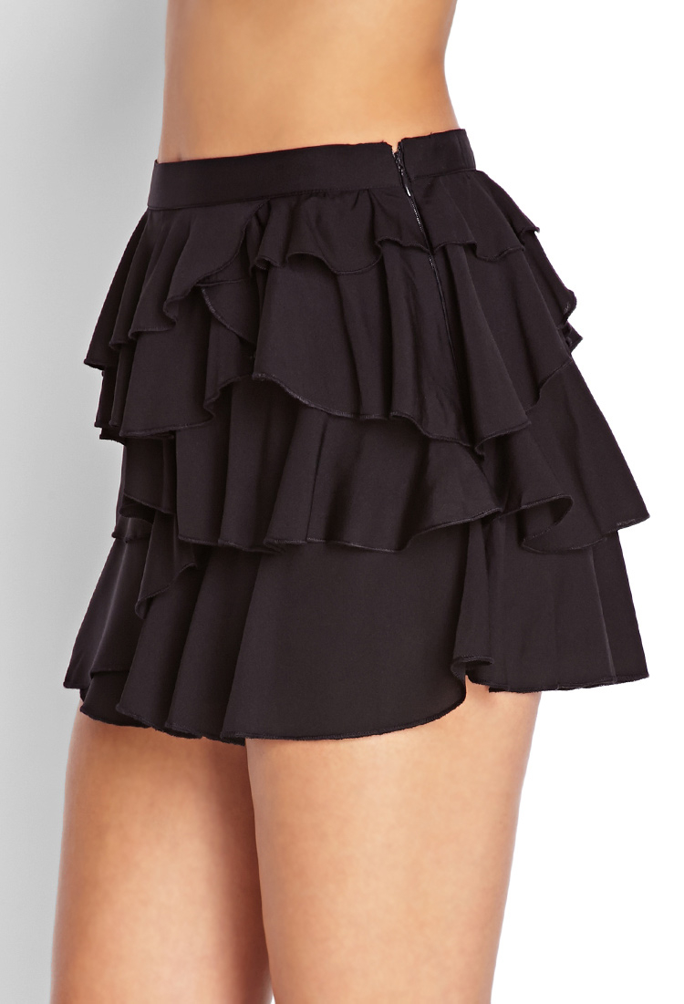 Find long black ruffled skirt at ShopStyle. Shop the latest collection of long black ruffled skirt from the most popular stores - all in one place.