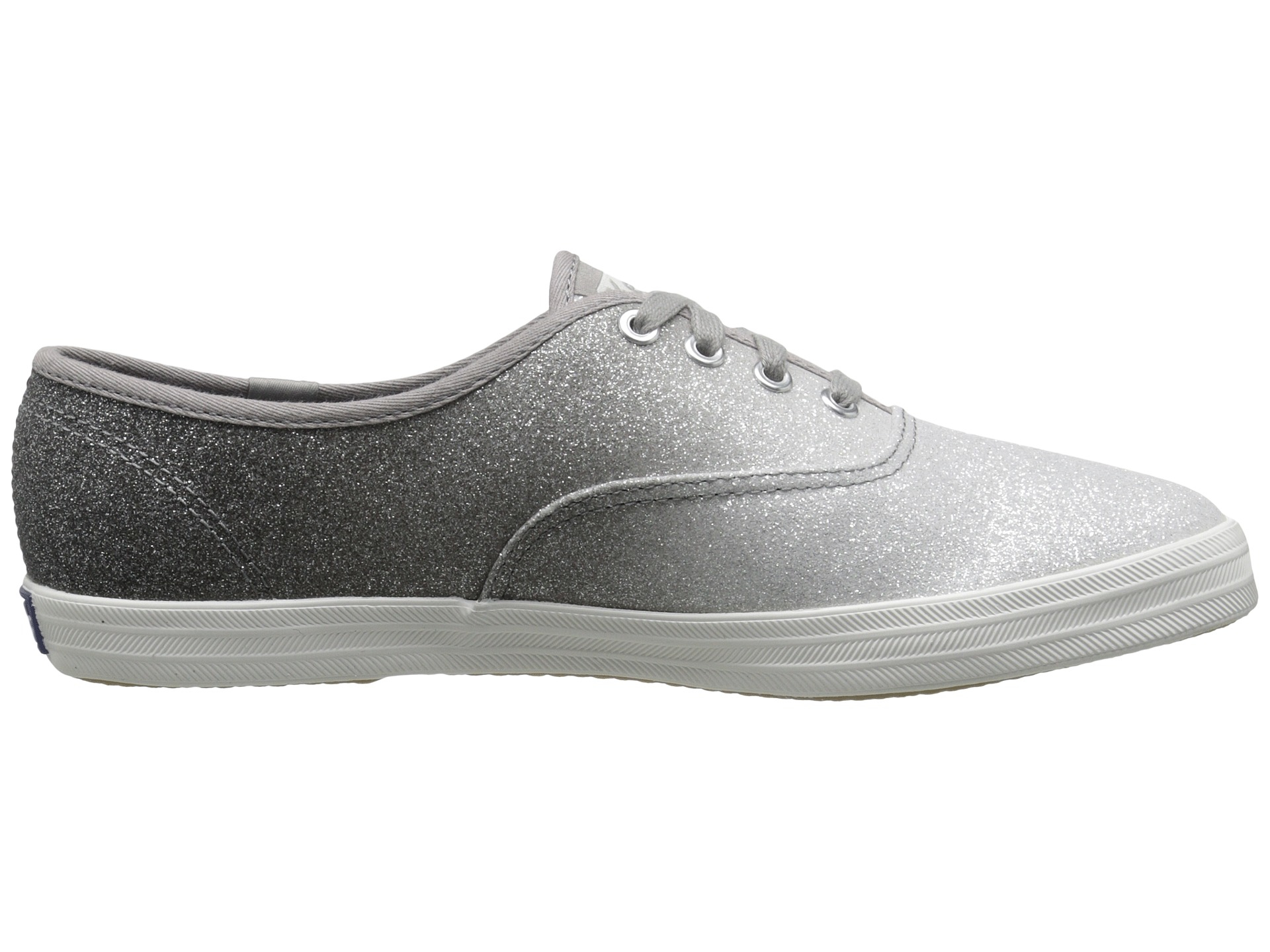 Keds Champion Ombre Glitter In Gray Lyst