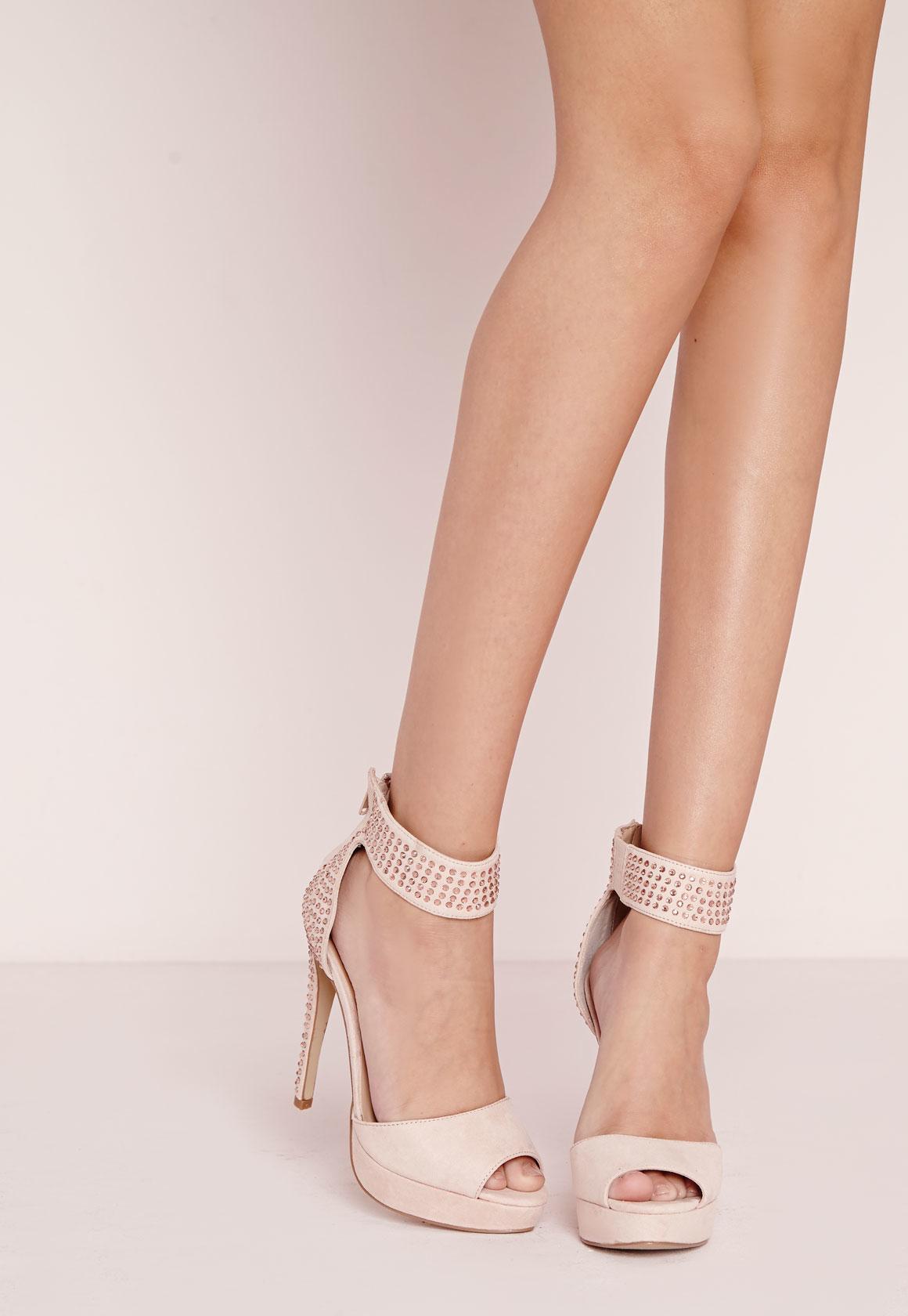 Pink Blush Heels