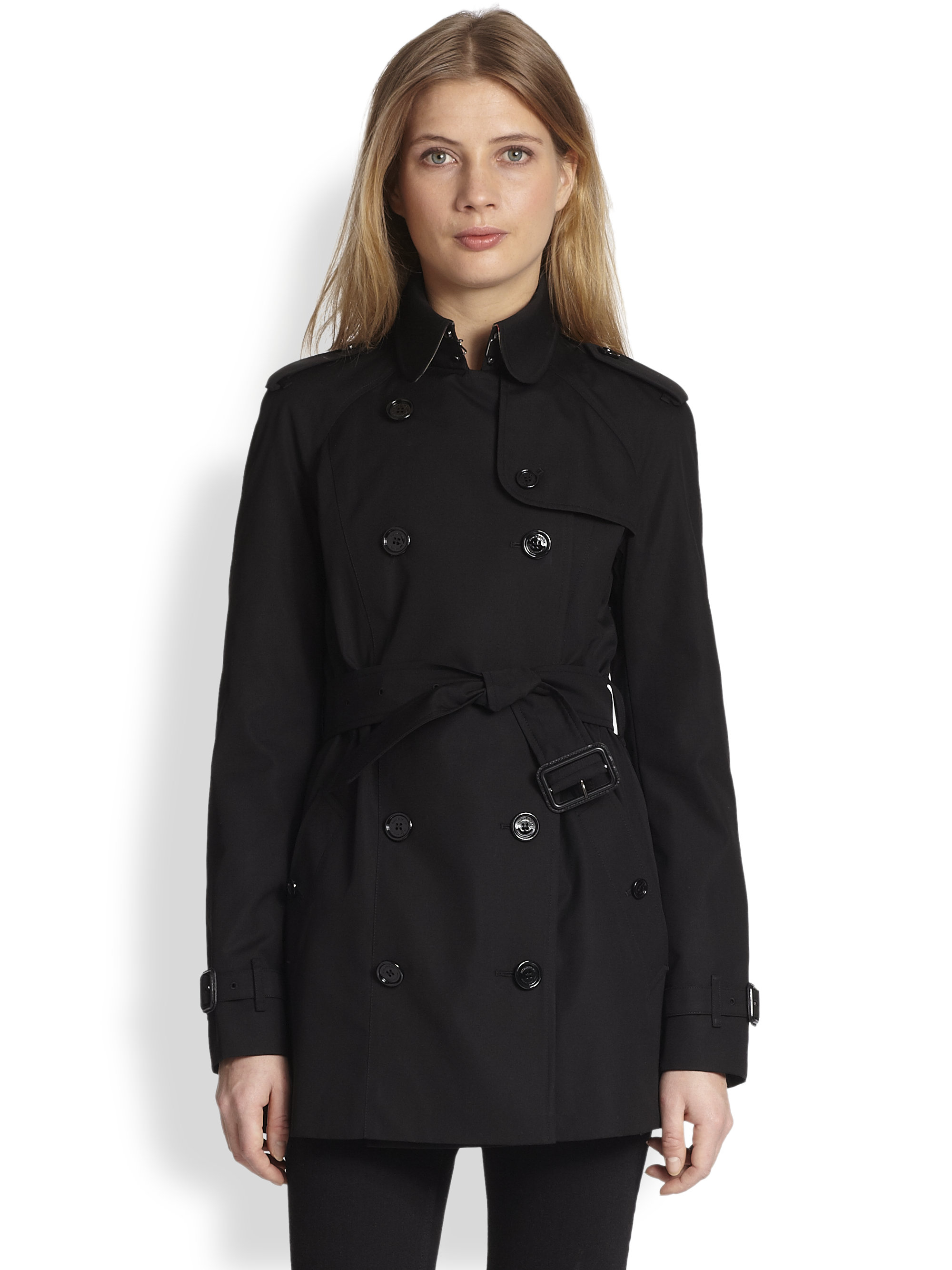 Gallery. Previously sold at: Saks Fifth Avenue · Women's Burberry Brit  Trench