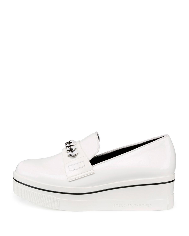 Stella McCartney White Croc Binx Slip-On Sneakers sOOA6Ph