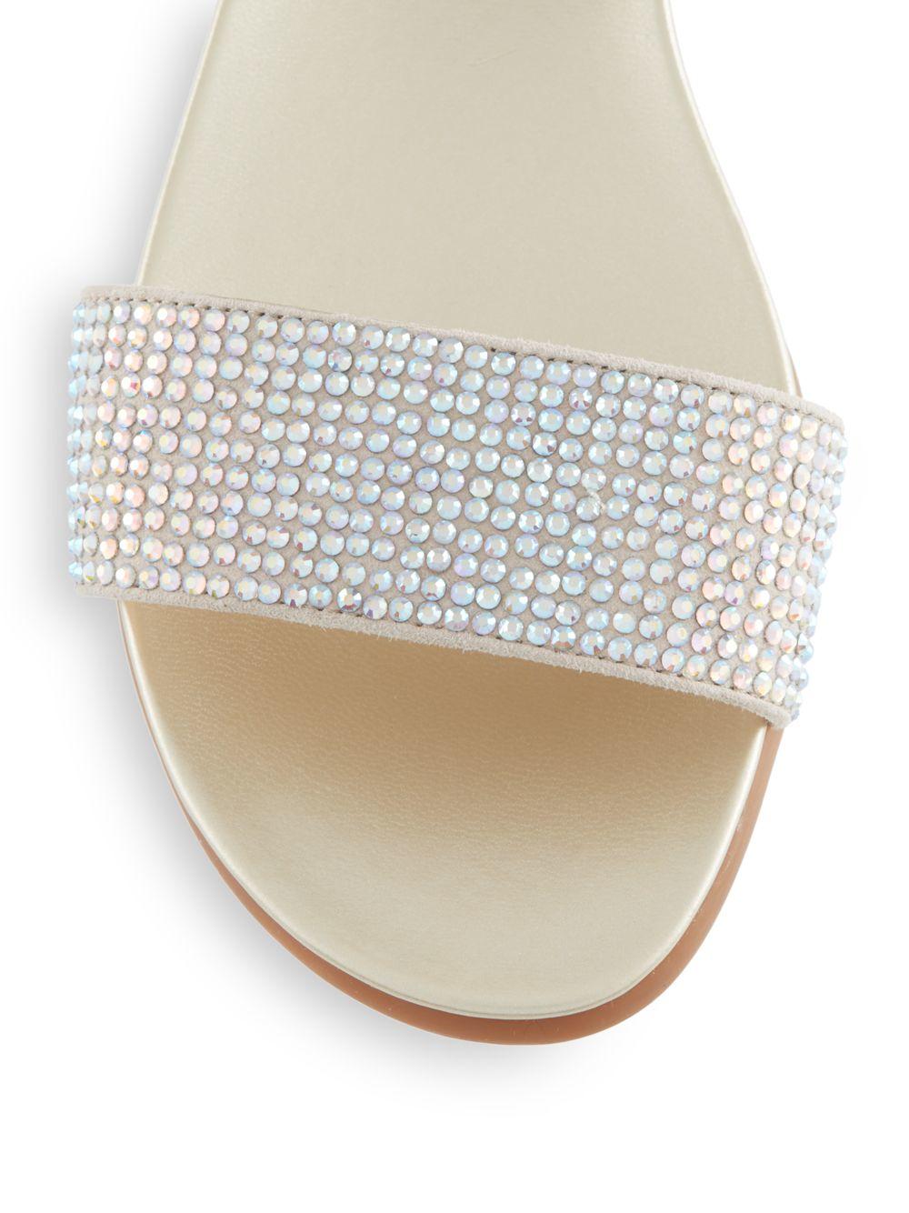 Vince Camuto Endilla Sandals In Metallic Lyst