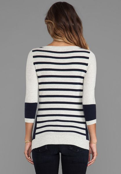 Navy V Neck Sweater Womens