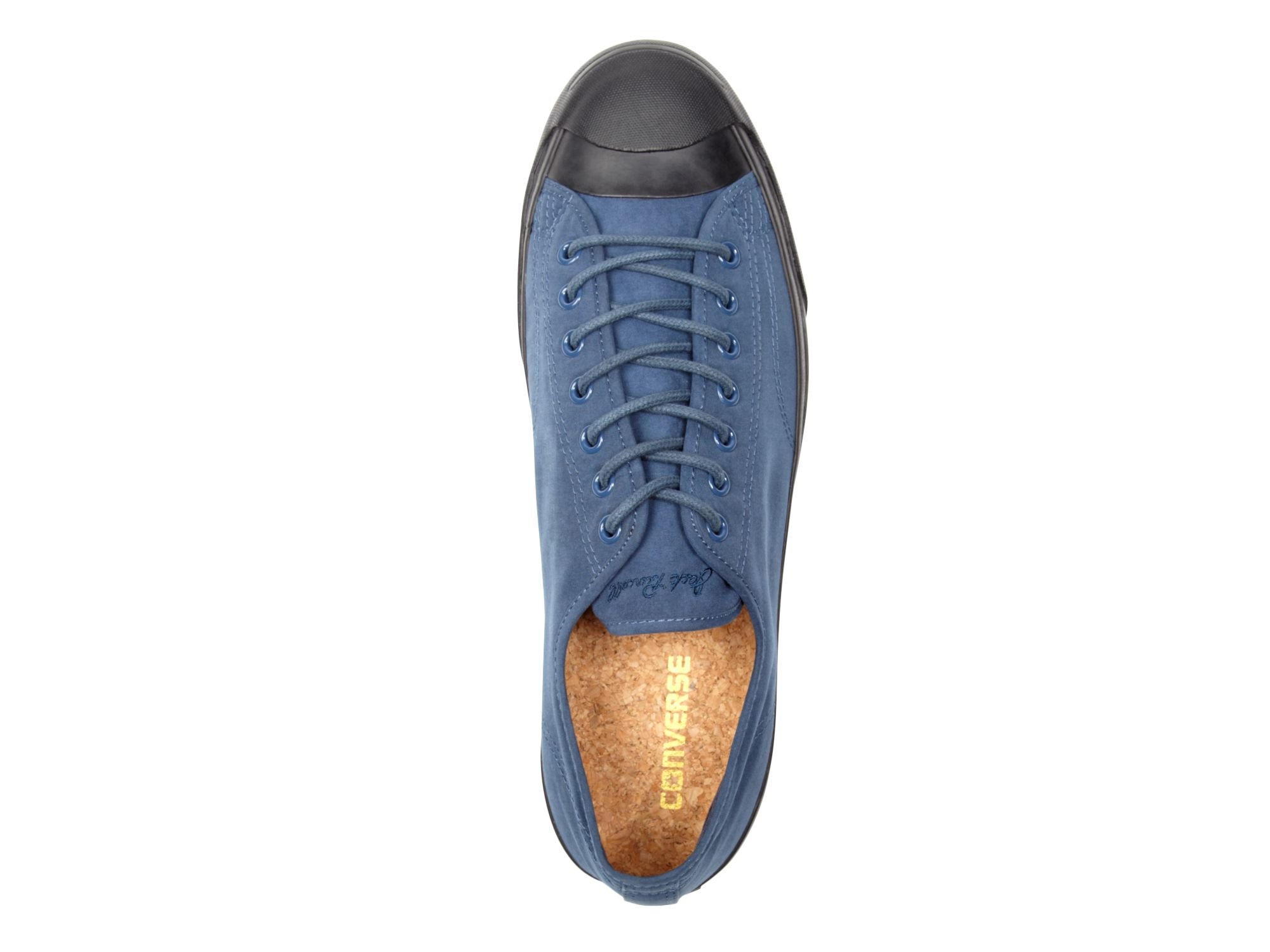 Converse Jp Jack Ox Peached Textile Sneakers in Navy (Blue)
