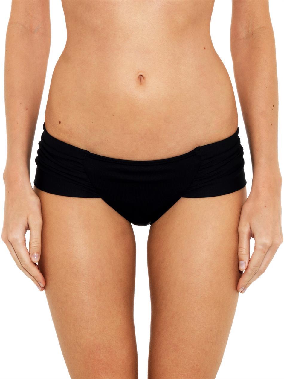 Black bikini briefs