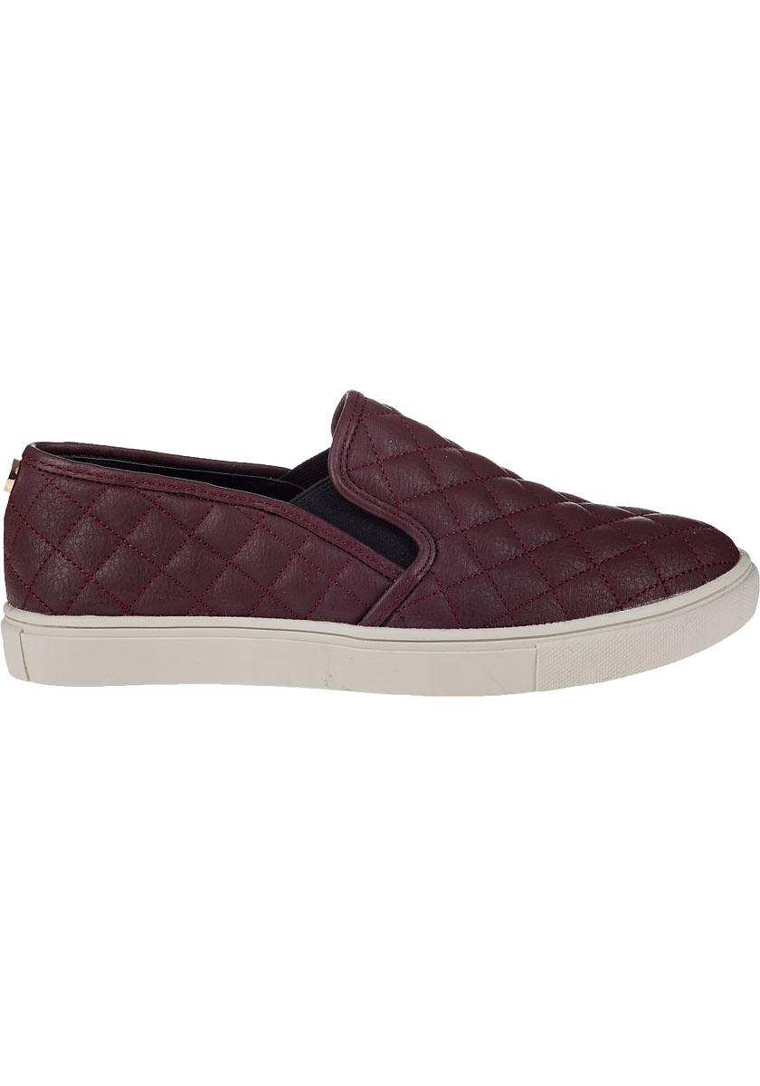 979f0ef0b43 Steve Madden Purple Ecentrcq Slip-on Sneaker Wine