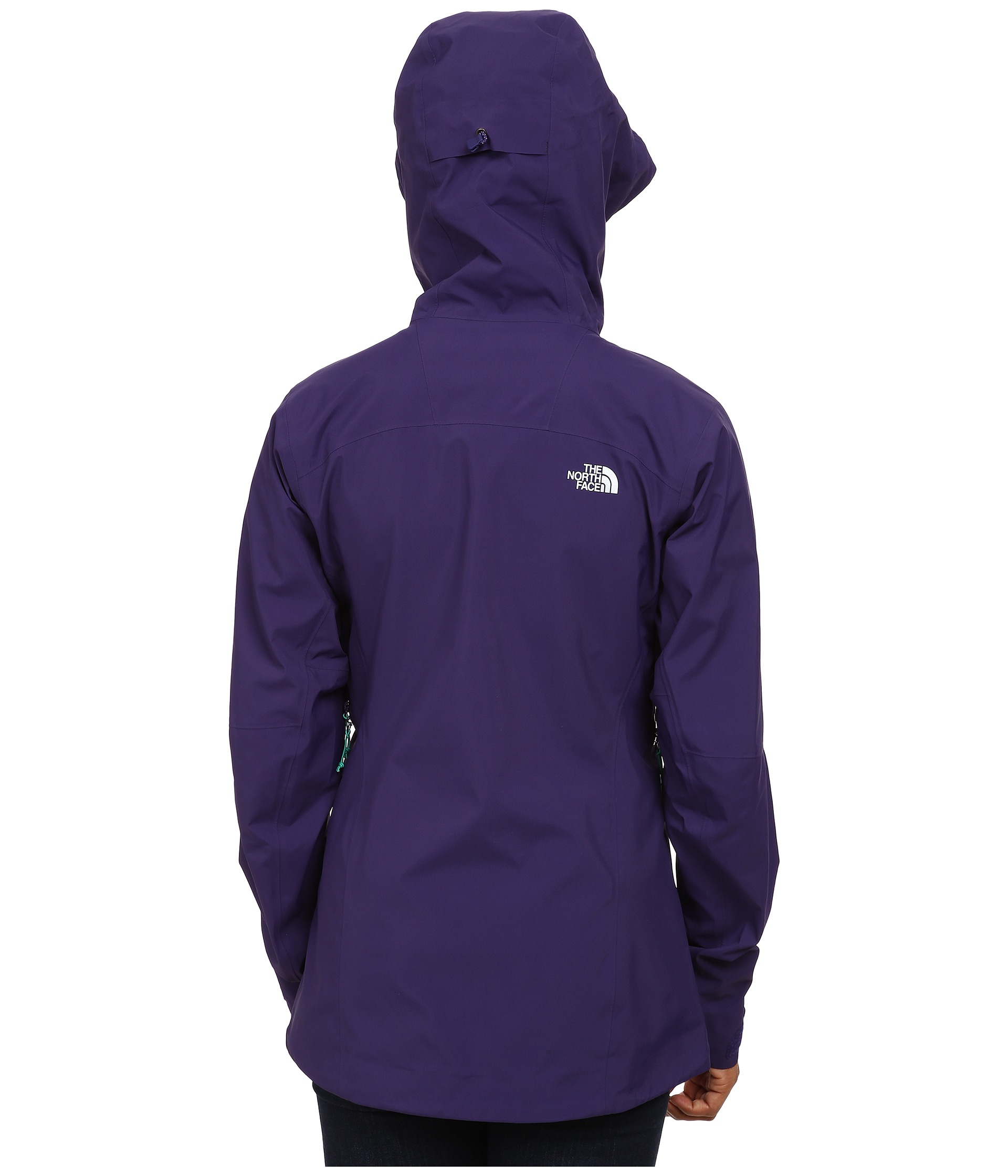 dd2486497 The North Face Purple Zero Gully Jacket