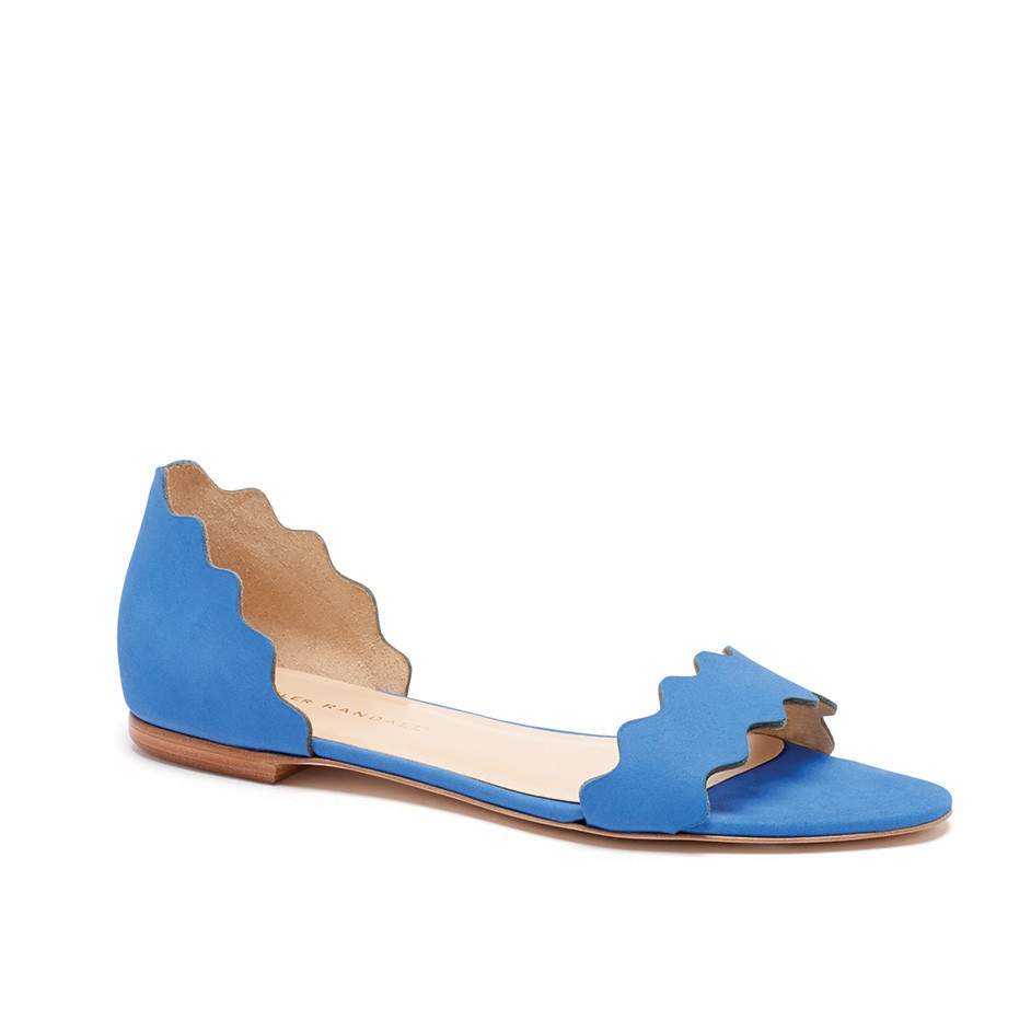 Periwinkle Flat Shoes