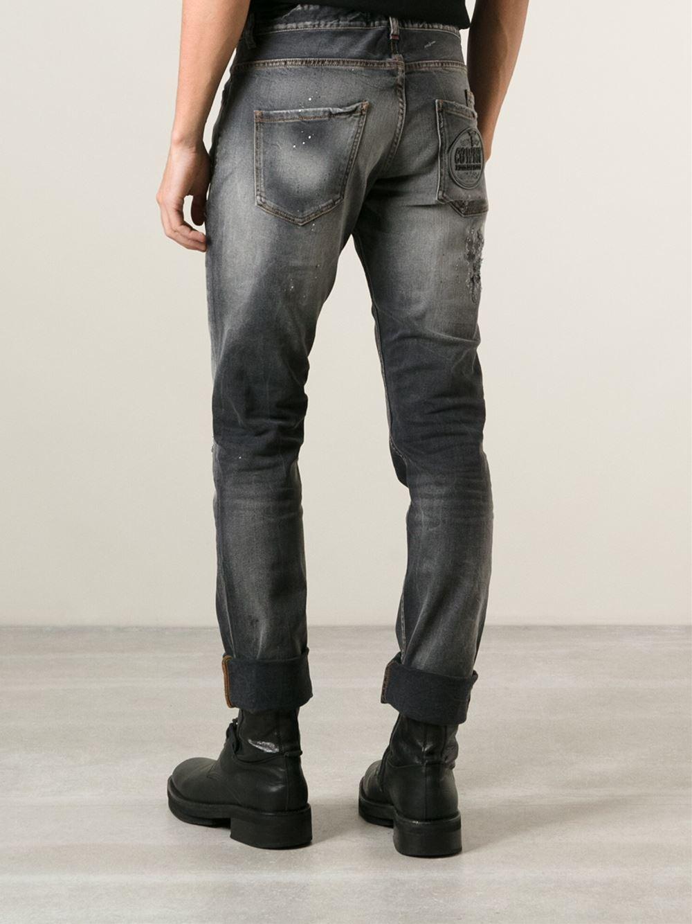 Philipp Plein Cowboy Jeans in Black for Men